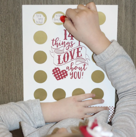 14 Things I Love About You Scratch Off