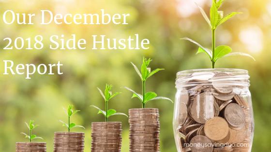 Our December 2018 Side Hustle Report