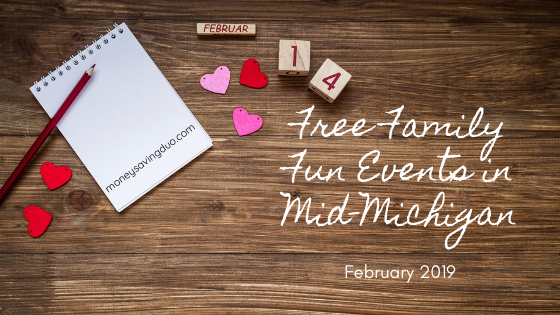 Free Family Fun Events in Mid-Michigan February 2019