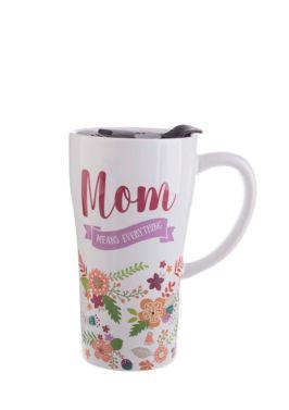 Mom Means Everything Travel Mug
