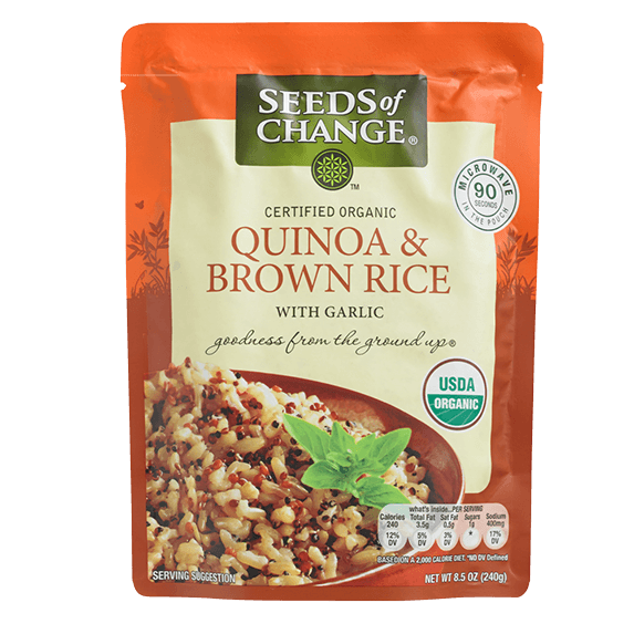 Brown Rice and Quinoa Pouch