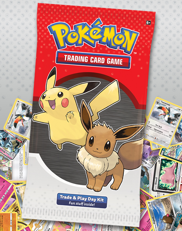 Pokemon Card Pack featuring Pikachu