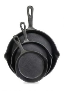 Cast Iron Skillet Set