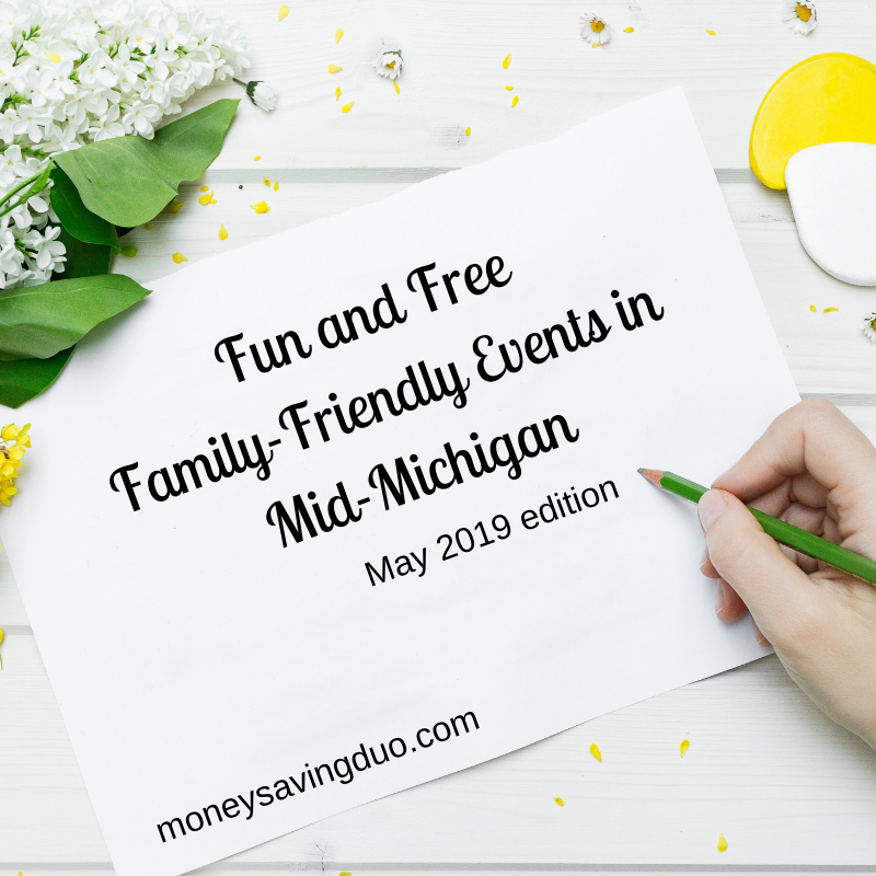 Free Family Fun Activities in Mid-Michigan May 2019