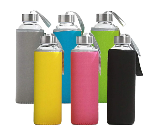 Reusable Glass Water bottles