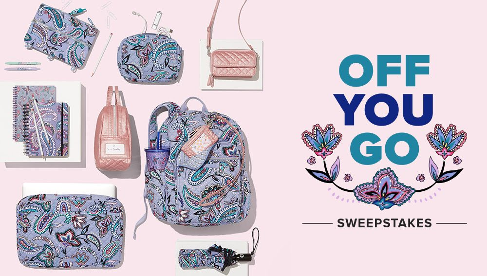 Off You Go Vera Wang Sweepstakes