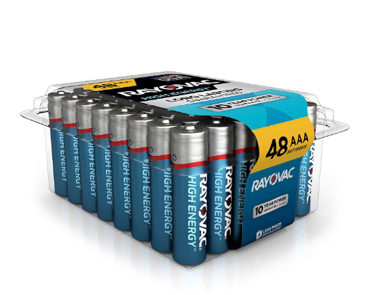 Rayovac AAA Batteries - 48 Pack