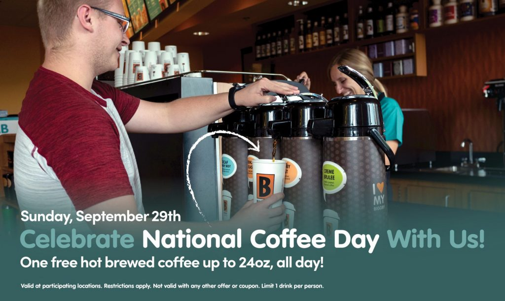 Biggby Coffee National Coffee Day