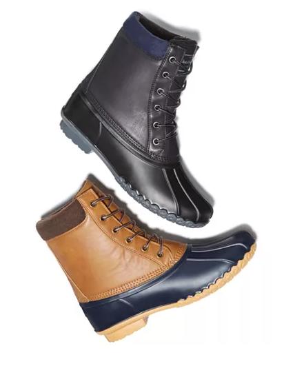 Men's Vintage Duck Boots