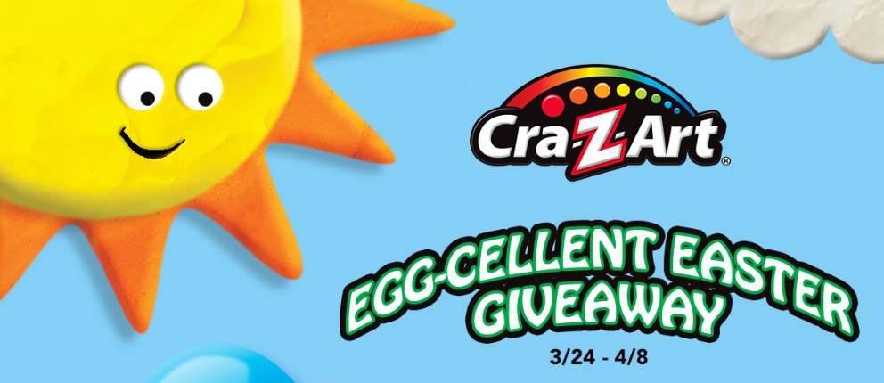 Cra-Z-Art Egg-cellent Easter Giveaway