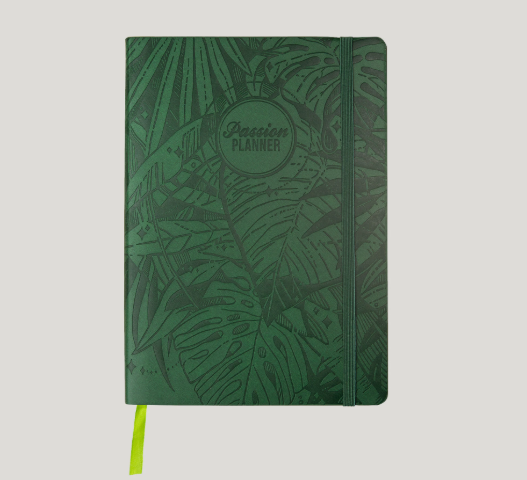 Passion Planner - Forest Green