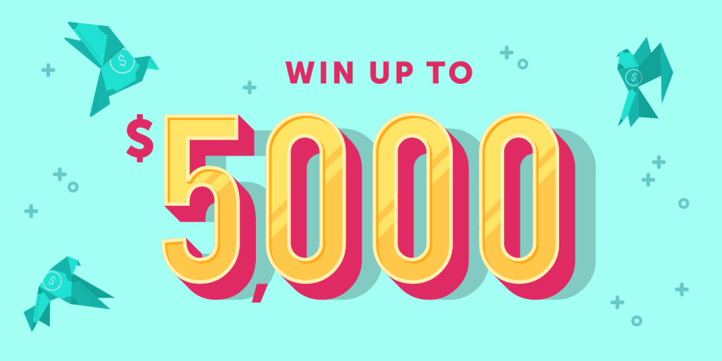 Win up to $5000 with Ibotta