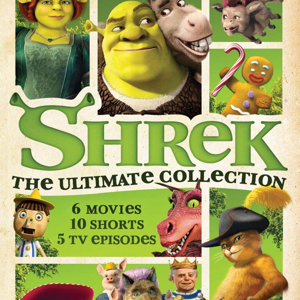 Shrek Blue Ray
