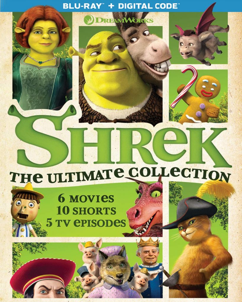 Shrek: The Ultimate Collection Only $17.99!