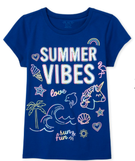 Summer Vibes Graphic Tee - The Children's Place