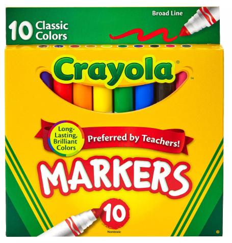 Crayola Broad Markers
