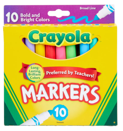 Crayola Broad and Bright Markers