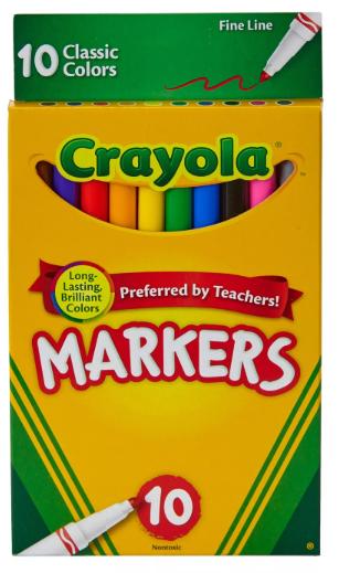 Crayola Fine Tip Markers