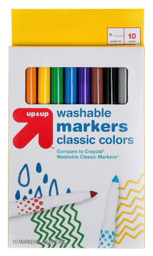 Up & Up Washable Markers Classic Colors