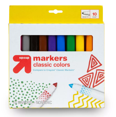 Back to School Markers