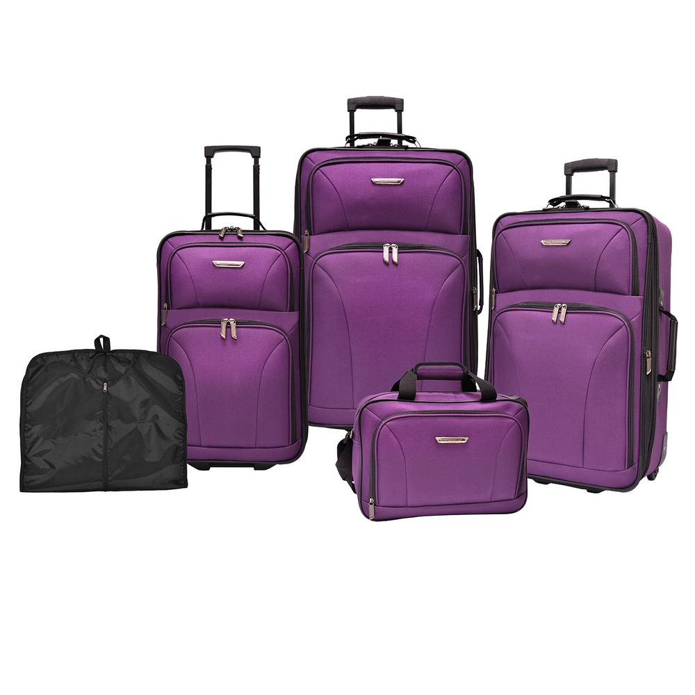 5 piece luggage set