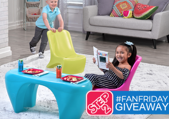 Step2 FanFriday Giveaway