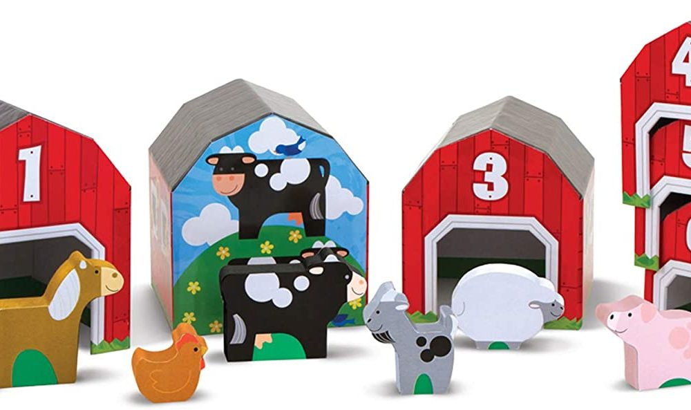 Melissa & Doug Sorting Barns