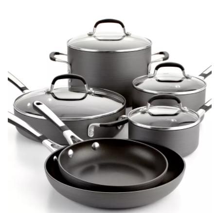 Calphalon Simply Non-Stick 10 Piece Cookware Set