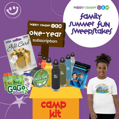 Happy Camper Family Fun Sweepstakes