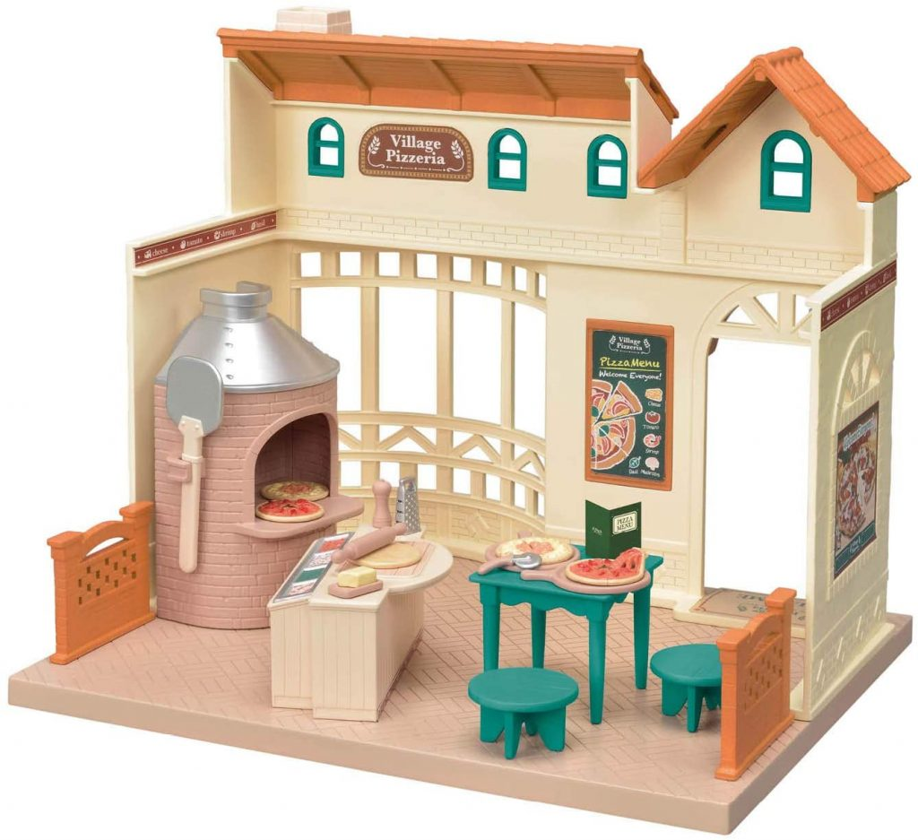 Calico Critters Village Pizzeria Playset