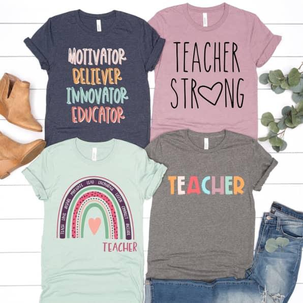 Celebrate Teachers Tees