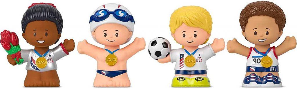 Fisher-Price Collector Team USA Figure Set