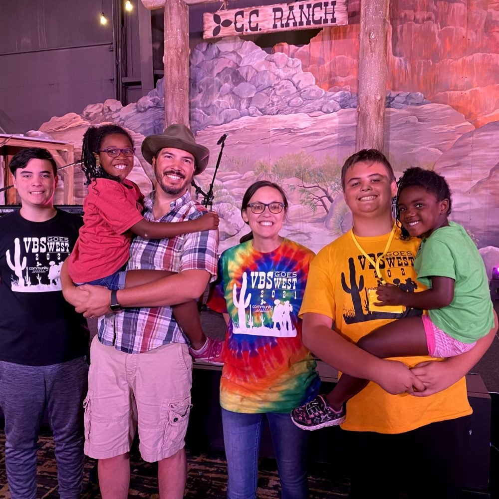 Family on Mission: Mora Family Serves at VBS