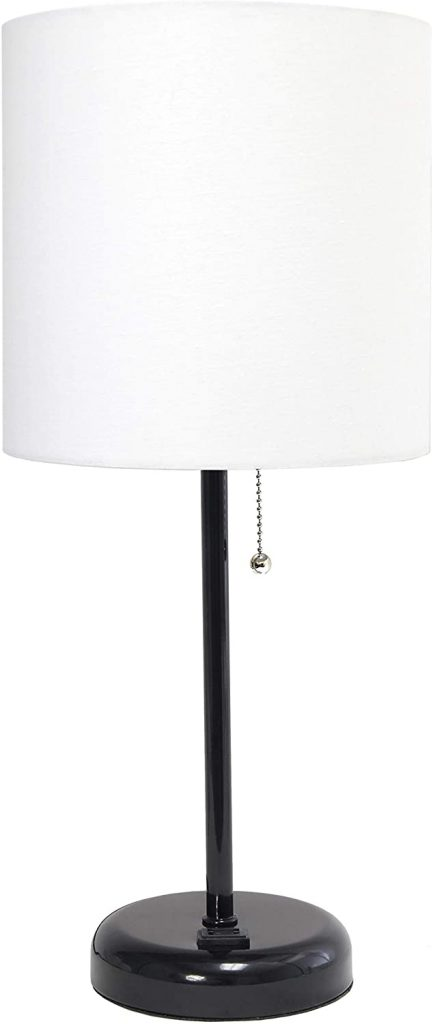 Limelights Stick Charging Outlet Table Lamp