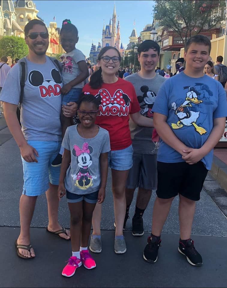 Our Family at Disney World in Orlando, FL